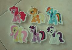 Just got these awesome MLP erasers ❤❤❤❤
