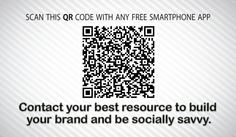 Scan this QR code with your Smart phone for more info, and contact me