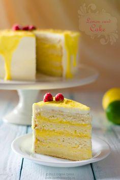 Can't boil an egg: Lemon curd cake - Tort cu cremă de lămâie