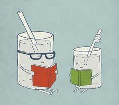 Reading Glasses by Phil Jones (society6.com)