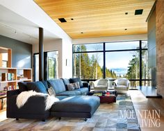An architect's dream home in Jackson Hole