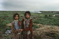 Romanian Gypsies by Bruno Barbey