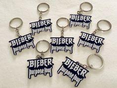 Justin Bieber Purpose Tour Merch Key ring