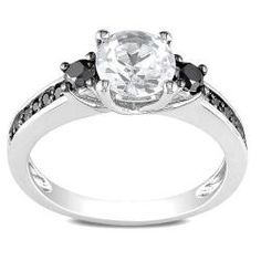 My engagement ring. Yes he found the right ring