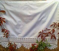 firanka, curtain crochet