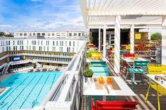 Les terrasses les plus chics de Paris - Terrasse piscine molitor
