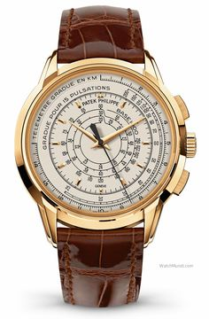 Patek Philippe - Multi Scale Chronograph. A special model created to commemorate the 175th anniversary.