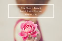 What Makes It Beautiful Portrait Session Giveaway with Andrea Hurley Photography in Eastern Kentucky