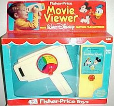 Got it for xmas and kept it for yeeeears. The Fisher-Price Movie Viewer