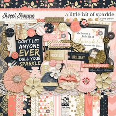 A Little Bit Of Sparkle by Zoe Pearn http://www.sweetshoppedesigns.com/sweetshoppe/product.php?productid=27480