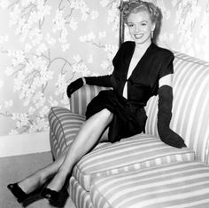 """""""Some people thought it was a little daring, but I love the dress."""" - Marilyn Monroe from the book Marilyn in Fashion"""