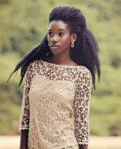Who says black women can't have long hair?? #naturalhair #Tumblr