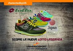 """Lotto Sport Italia Leggenda Tokyo Shibuya Modello dedicato al quartiere più """"in"""" e alla moda della capitale giapponese trae ispirazione da una scarpa da running anni '80 realizzata per il maratoneta Orlando Pizzolato. Nei nostri store #leggenda #japan"""