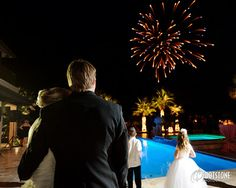 by Footstone Photography - Love the fireworks!!!