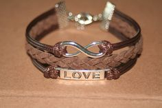 Infinity BraceletInfinity karma braceletlove bracelet by yoyostyle, $6.99