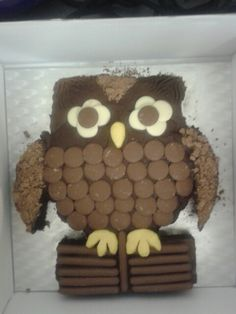 Owl Birthday cake!