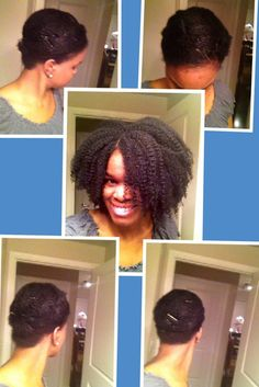 Stretch Your Natural Hair with a Wrap