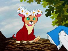 Alice in Wonderland-Dinah