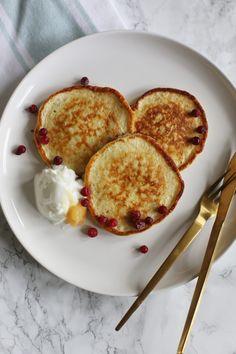 Kwark pannenkoeken met havermout - Taste our Joy!