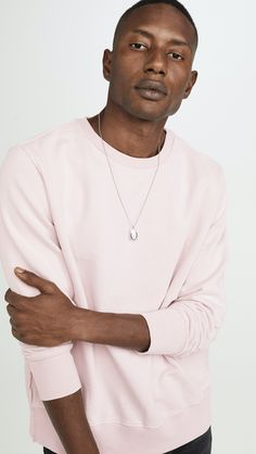 Thanks to East Dane, you don't have to wait until Black Friday to start shopping. The men's retailer launched its popular Buy More, Save More sale with up to Men's Sweatshirts, The Fashionisto, Cotton Sweater, Crew Neck Sweatshirt, Mens Tops, Stuff To Buy, Shopping