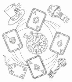 Here are the Awesome Alice In Wonderland Color Pages Colouring Pages. This post about Awesome Alice In Wonderland Color Pages Colouring Pages . Heart Coloring Pages, Cute Coloring Pages, Disney Coloring Pages, Free Printable Coloring Pages, Coloring Pages For Kids, Coloring Books, Alice And Wonderland Quotes, Alice In Wonderland Tea Party, Illustration