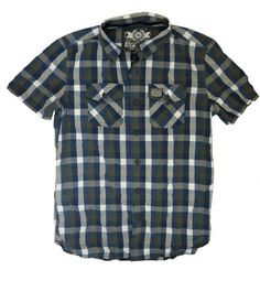 Superdry Mens Washbasket Check S/S Shirt - Dynamo Gingham Navy Mix – £46.95 with FREE UK P&P Looks great layered over a tee with jeans & shorts. http://moyheelandtraders.com/products/superdry-mens-washbasket-check-s-s-shirt-dynamo-gingham-navy-mix