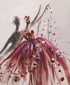 'Dancing with light✨' @paperfashion| Be Inspirational ❥|Mz. Manerz: Being well dressed is a beautiful form of confidence, happiness & politeness Paper Fashion, Fashion Design Sketches