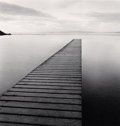 Plank Walk, Morecambe, Lancashire, England (1992) - Michael Kenna