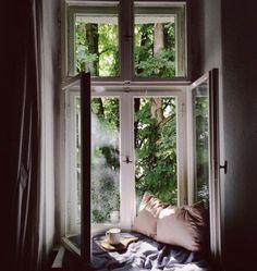 through the window Interior And Exterior, Interior Design, Interior Paint, Through The Window, Design Case, Design Design, Design Ideas, Cozy House, Architecture