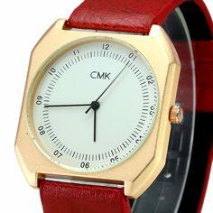 cmk Brand New Fashion luxury Elegant woman Watches Simple Ultra Thin dial Casual Male Quartz Clock Man Watch Wristwatch Gift #Affiliate