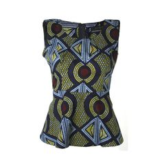 Hey, I found this really awesome Etsy listing at https://www.etsy.com/pt/listing/183806466/ankara-peplum-top-african-print-top