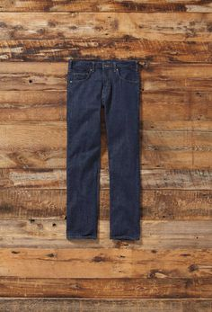 Because we don't sandblast, bleach or stonewash our denim to make it look worn, we also avoid the serious social and environmental downsides of doing so.