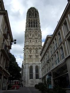 The Notre-Dame Cathedral in Rouen #France #Cathedral #Beautiful Places