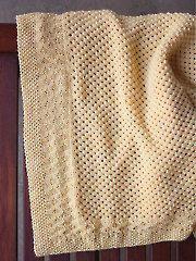 Knitting Patterns - Buttercup Blanket Knit Pattern
