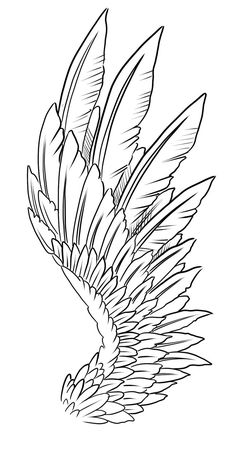 Tattoo Design Lines by Nikolay Sparkov - Tattoo Designs - . Wing Tattoo Design Lines by Nikolay Sparkov - Tattoo Designs - . Wing Tattoo Design Lines by Nikolay Sparkov - Tattoo Designs - . Tattoos for Men and Women Design Your Tattoo, Wing Tattoo Designs, Design Tattoos, Sketch Tattoo Design, Tattoo Sketches, Tattoo Drawings, Art Sketches, Tattoo Art, Pin Tattoo