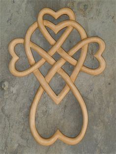 Celtic Knots and Welsh Spoons | Wooden Crosses