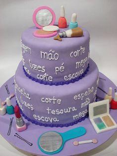 Makeup Cake by Isa Herzog, via Flickr