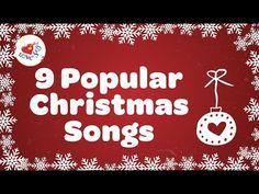 Top 9 Christmas Songs and Carols with Lyrics 2018 - YouTube Popular Christmas Songs, Christmas Music, Merry Christmas, Christmas Playlist, 9 Songs, Youtube, Singing, Lyrics, Music Music