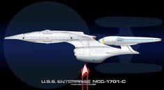 USS Enterprise C Finished by Galen82 on deviantART
