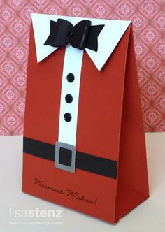 Lisa's Creative Corner: santa bag using father's day key