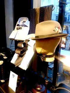 Hackett London at their new flagship store on Modus Operandi, British Style, Visual Merchandising, Collections, Display, London, Street, Men, Inspiration