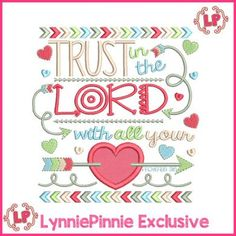 See It All - Trust in the Lord PROVERBS 3:5 Tribal Arrows Word Art Applique 4x4 5x7 6x10 7x11 - Welcome to Lynnie Pinnie.com! Instant download and free applique machine embroidery designs in PES, HUS, JEF, DST, EXP, VIP, XXX AND ART formats.