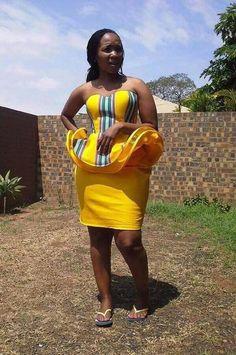 African Wedding Attire, African Attire, African Wear, African Dress, Venda Traditional Attire, African Traditional Wear, Traditional Outfits, Kente Styles, African Fashion Ankara
