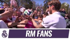 Real Madrid  Real Madrids arrival in Granada