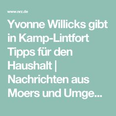 Cute Yvonne Willicks gibt in Kamp Lintfort Tipps f r den Haushalt Nachrichten aus Moers und