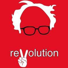 Revolution! #bernie2016 #women4bernie #FeeltheBERN