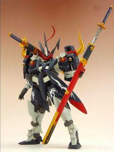 GUNDAM GUY: HG 1/144 GN-X 'Samurai' - Custom Build