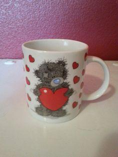 Fuzzy Bear Valentine Mug by HolidaySurprises on Etsy, $10.00