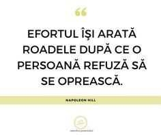 Perseverenta este una dintre calitatile oamenilor de succes. Alege sa mergi inainte indiferent de dificultatile care apar, pentru ca esti mai aproape de atingerea obiectivelor tale decat crezi.