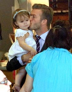 Harper Beckham's Life With Dad David Beckham: Her First Two Years in Pictures: July 26, 2012